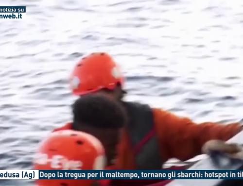 Lampedusa (Ag). Dopo la tregua per il maltempo, tornano gli sbarchi: hotspot in tilt