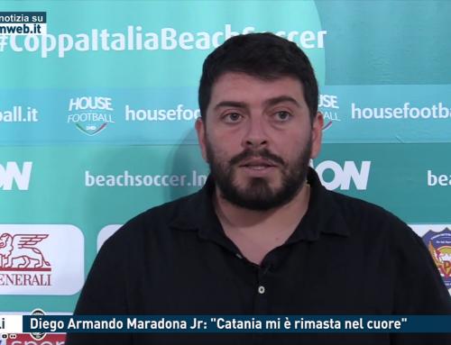 """Napoli. Diego Armando Maradona Jr: """"Catania mi è rimasta nel cuore"""""""