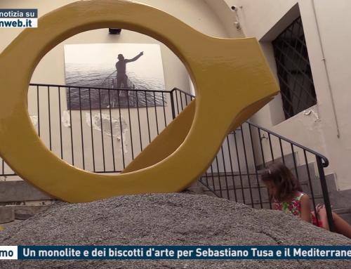 Palermo. Un monolite e dei biscotti d'arte per Sebastiano Tusa e il Mediterraneo