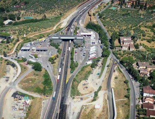 Autosole, aperta la terza corsia del tratto Firenze Sud-Incisa