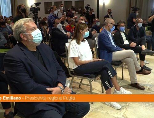 """Puglia, Emiliano presenta il movimento politico """"Con"""""""