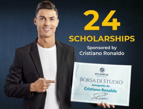Ronaldo dona 24 borse di studio eCampus, candidature dal 4 agosto