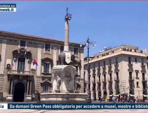 Catania: da domani Green Pass obbligatorio per accedere a musei, mostre e biblioteche