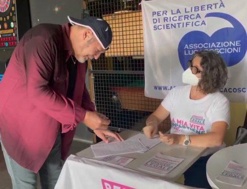 Eutanasia, Vasco firma per referendum fine vita