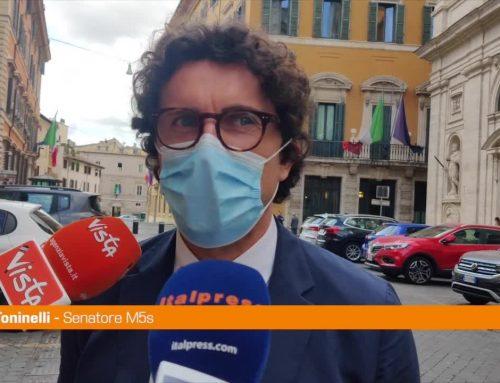 """M5s, Toninelli """"Conte è la persona giusta, non può che fare bene"""""""