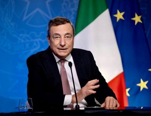 """Draghi """"L'Italia donerà 45 milioni di vaccini ai Paesi poveri"""""""