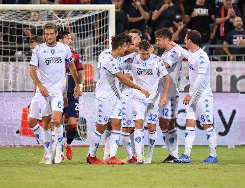 Colpo Empoli, il Cagliari cede 2-0 in casa