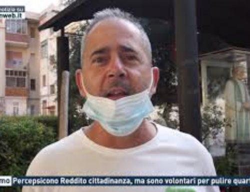Palermo – Percepiscono Reddito cittadinanza, ma sono volontari per pulire quartiere