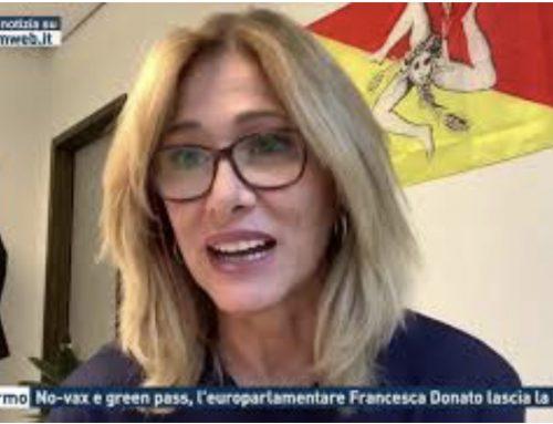 Palermo – No-vax e green pass, l'europarlamentare Francesca Donato lascia la Lega