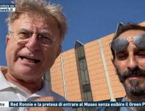 Messina – Red Ronnie e la pretesa di entrare al Museo senza esibire il Green Pass