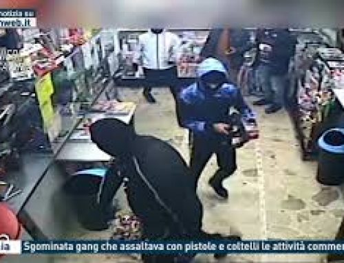 Catania – Sgominata gang che assaltava con pistole e coltelli le attività commerciali