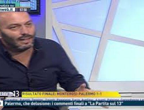 """Calcio – Palermo, che delusione: i commenti finali a """"La Partita sul 13"""""""