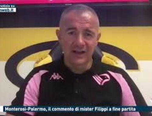 Calcio – Monterosi-Palermo, il commento di mister Filippi a fine partita