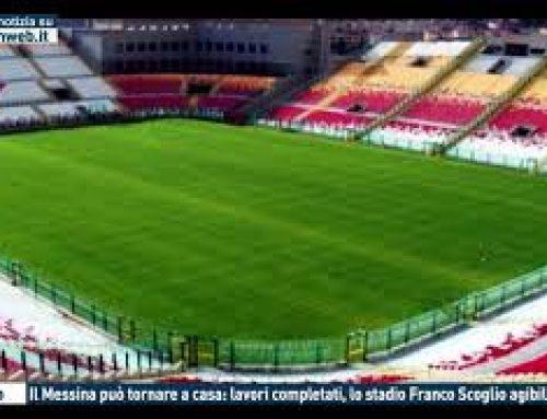 Calcio – Il Messina può tornare a casa: lavori completati. lo stadio Franco Scoglio agibile