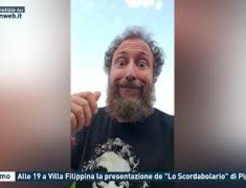 """Palermo – Alle 19 a Villa Filippina la presentazione de """"Lo Scordabolario"""" di Piparo"""