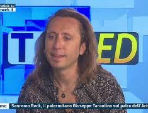 Palermo – Sanremo Rock, il palermitano Giuseppe Tarantino sul palco dell'Ariston