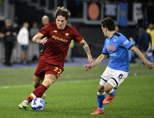 Roma-Napoli 0-0, primo pari per gli azzurri dopo 8 vittorie