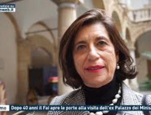 Palermo – Dopo 40 anni il Fai apre le porte alla visita dell'ex Palazzo dei Ministeri