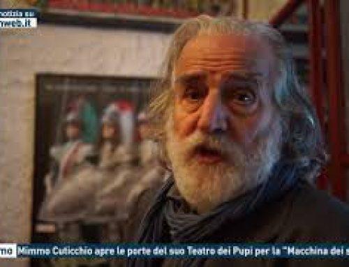 """Palermo – Mimmo Cuticchio apre le porte del suo Teatro dei Pupi per la """"Macchina dei sogni"""""""
