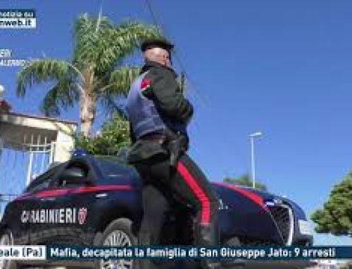 Monreale (Pa) – Mafia, decapitata la famiglia di San Giuseppe Jato: 9 arresti