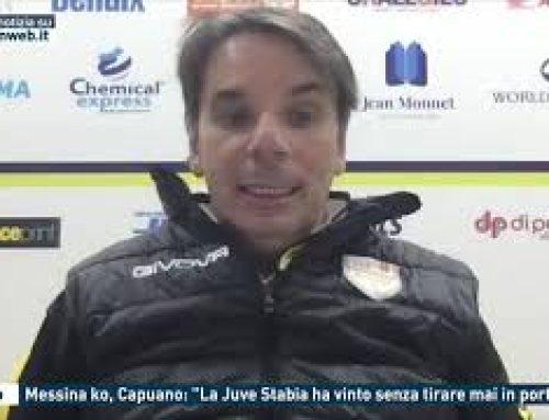 """Calcio – Messina ko, Capuano: """"La Juve Stabia ha vinto senza tirare mai in porta"""""""