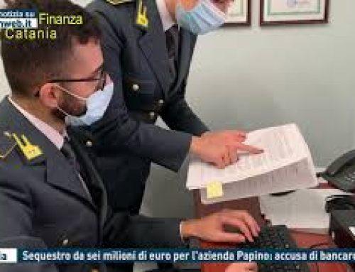 Catania – Sequestro da sei milioni di euro per l'azienda Papino: accusa di bancorotta
