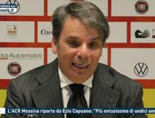 """Calcio – L'ACR Messina riparte da Ezio Capuano: """"Più entusiasmo di undici anni fa"""""""