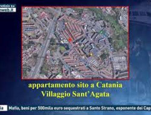 Catania – Mafia, beni per 500mila euro sequestrati a Santo Strano, esponente dei Cappello