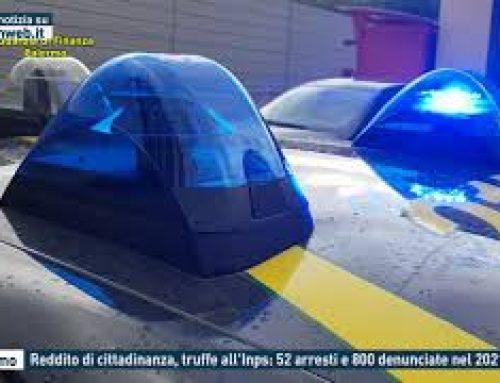 Palermo – Reddito di cittadinanza, truffe all'Inps: 52 arresti e 800 denunciate nel 2021