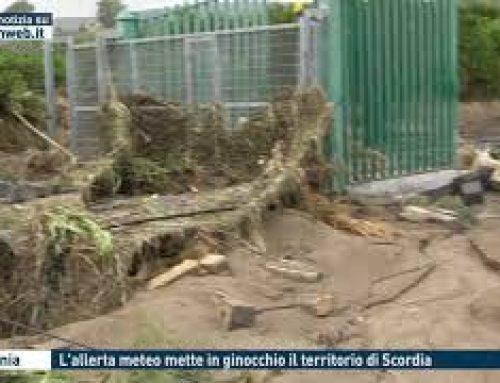 Catania – L'allerta meteo mette in ginocchio il territorio di Scordia